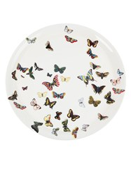 Fornasetti Butterfly Tray White