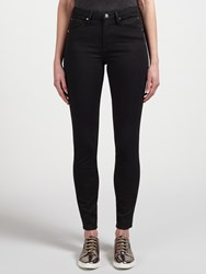 Calvin Klein High Rise Sculpted Skinny Jeans Infinite Black Stretch