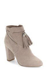 Pelle Moda Women's Fredi Tassel Bootie Mushroom Leather