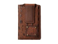 Sts Ranchwear The Foreman Money Clip Brown Croc Wallet