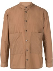 Loveless Pocket Shirt Brown