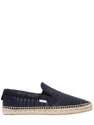 Jimmy Choo Croc Embossed Leather Loafers