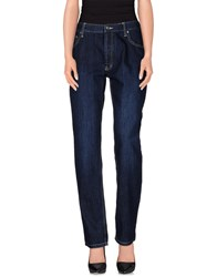 Cheap Monday Denim Denim Trousers Women Blue