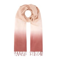 Eileen Fisher Ombre Scarf Female Pink