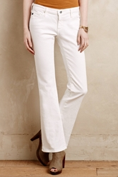 Ag Jeans Ag Angelina Petite Jeans White