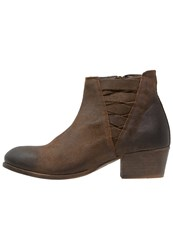 Hudson H By Ankle Boots Tobacco Brown