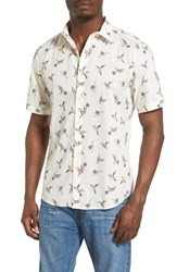 7 Diamonds Men's Katmandu Print Woven Shirt