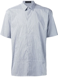 Kris Van Assche Short Sleeve Striped Shirt