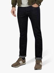 Ted Baker Marioo Straight Fit Jeans Navy