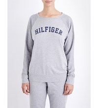 Tommy Hilfiger Iconic Jersey Top Grey Heather
