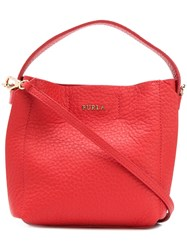 Furla Capriccio Tote Bag Red