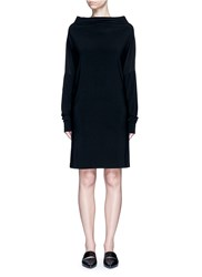 Norma Kamali 'All In One' Convertible Jersey Dress Black