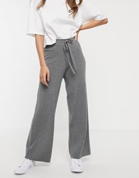 Fashion Union Knitted Trousers Grey