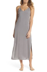 Joe's Jeans Strappy Nightgown Aerial Gray