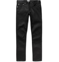 Simon Miller M001 Slim Fit Dry Selvedge Denim Jeans Black