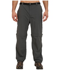 Columbia Silver Ridge Convertible Pant Extended Grill Men's Workout Gray