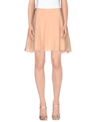 Blumarine Skirts Mini Skirts Women Skin Colour