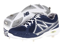 New Balance Mb3000 Metal Low Cut Cleat Blue White Men's Cleated Shoes