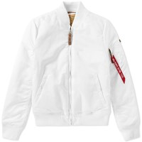 Alpha Industries Ma 1 Vf 59 Flight Jacket White