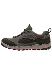Ecco Ulterra Gtx Casual Laceups Dark Shadow Woodrose Grey