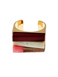 Stella Mccartney Mixed Plexiglas Cuff