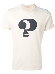 Levi's Vintage Clothing 1960S Graphic Question Mark T Shirt Nude Neutrals