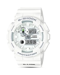 G Shock Xl Analog And Digital Multi Function Chronograph Strap Watch 51.2Mm White