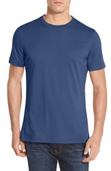 Robert Barakett Men's 'Georgia' Crewneck T Shirt True Navy