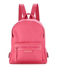 Le Pliage Small Nylon Backpack Pink Longchamp