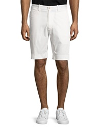 Bobby Jones Stretch Twill Golf Shorts White