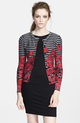 Women's Tracy Reese Graphic Stripe Cardigan