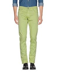 Fradi Trousers Casual Trousers Light Green