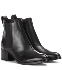 Rag And Bone Walker Leather Ankle Boots Black