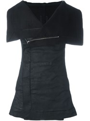 Rick Owens Drkshdw 'Sleeveless' Denim Gilet Black