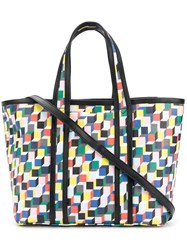 Pierre Hardy Cube Tote Bag Multicolour