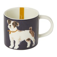 Joules Pawcasso Cuppa Mug Navy Dog