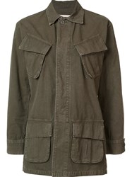 Citizens Of Humanity 'Nadja' Field Jacket Green