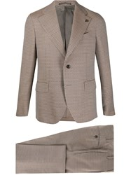 Gabriele Pasini Geometric Pattern Two Piece Suit 60