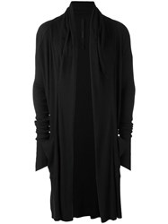 Army Of Me Long Cardigan Black
