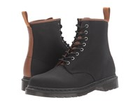 Dr. Martens 1460 Black 12Oz. Waxy Canvas Tan New Laredo Lace Up Boots