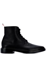 Thom Browne Pebble Texture Lace Up Boots 60