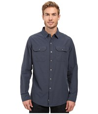 Kuhl Sting Long Sleeve Shirt Pirate Blue Men's Long Sleeve Button Up