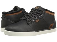 Etnies Jefferson Mid Dark Grey Men's Skate Shoes Gray