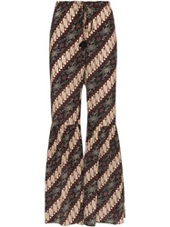 Figue Brielle Batik Print Trousers Javdi
