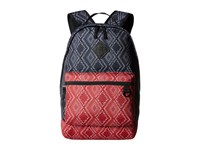 Vans Tiburon Backpack Bandana Parisian Night Backpack Bags Red