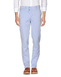 Versace Collection Casual Pants Sky Blue