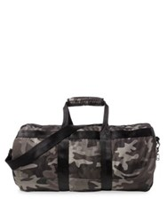 Polo Ralph Lauren Camouflage Printed Military Duffel Bag Black
