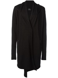 Lost And Found Ria Dunn Hooded Cardigan Black