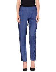 8Pm Trousers Casual Trousers Women Dark Blue