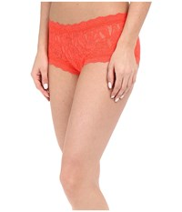 Hanky Panky Signature Lace Boyshort Salsa Women's Underwear Black